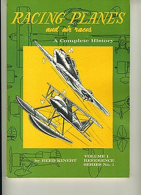 (E1G) RACING PLANES AND AIR RACES / Reed KINERT / 1967 / Volume 1 Series N°1