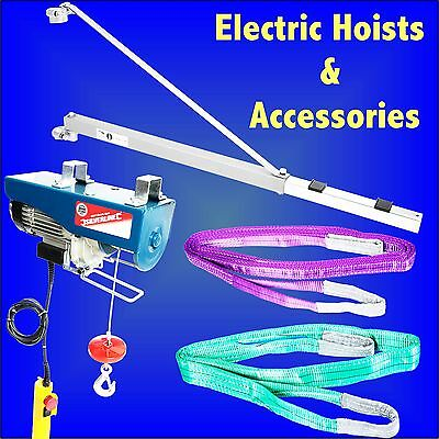 250kg 500Kg Electric Hoist Support Arm Winch Lifting Sling Scaffold crane block