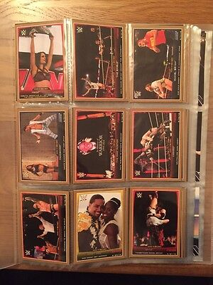 2015 Topps Road to Wrestlemania,197 Cards,Bronze Base,5 Chase Sets,Gold & Silver