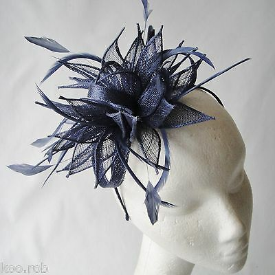 Weddings Lemon Feather Fascinator for Races And Proms