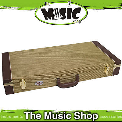 Xtreme PC320 Tweed Effects Pedal Road Case with Removable Lid -  70cm Long
