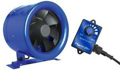 Hyperfan 6 inch (150mm) with Speed Controller / Phresh Hyper Fan / Hydroponics