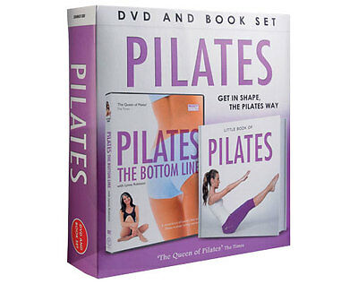 Pilates Book And DVD Set Build Muscles Fitness Flexibility Flex Work Out Fitness