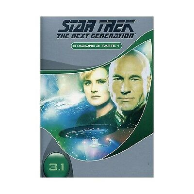 Cofanetto Star Trek Next Generation Stagione 03 #01 (3 Dvd) Serie Tv Dvd-17254