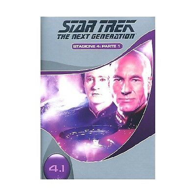 Cofanetto Star Trek Next Generation Stagione 04 #01 (3 Dvd) Serie Tv Dvd-17467