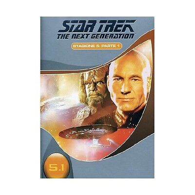 Cofanetto Star Trek Next Generation Stagione 05 #01 (3 Dvd) Serie Tv Dvd-17621