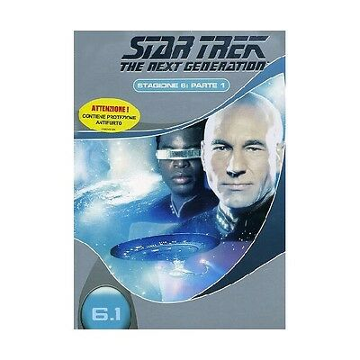 Cofanetto Star Trek Next Generation Stagione 06 #01 (3 Dvd) Serie Tv Dvd-17822