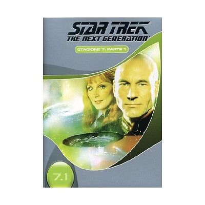 Cofanetto Star Trek Next Generation Stagione 07 #01 (3 Dvd) Serie Tv Dvd-17976