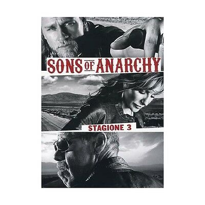 Cofanetto Sons Of Anarchy - Stagione 03 (4 Dvd) Serie Tv Dvd Nuovo - 20T-34714