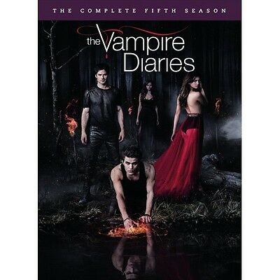 Cofanetto Vampire Diaries (The) - Stagione 05 (5 Dvd) Serie Tv Dvd Nuovo-98293