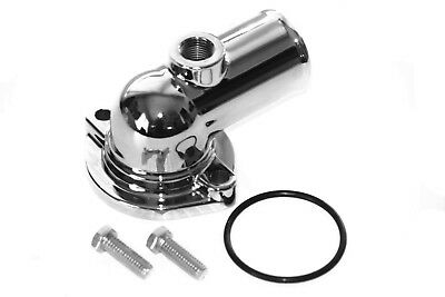 BBF 429-460 Chrome Water Neck Thermostat Housing Outlet Ford