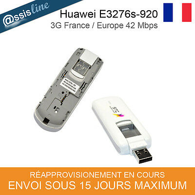 HUAWEI E3276s-920 CLE MODEM 3G 4G INTERNET DEBLOQUEE - FRANCE 3G 42 Mbit/s