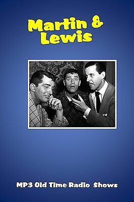 Martin & Lewis   28  (OTR) Old Time Radio Shows MP3 on a single CD
