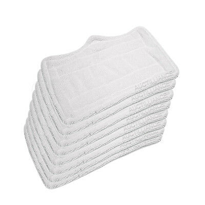 8 Euro Pro Shark Steam Mop Replacement Microfiber Pads S3101 S3102 S3202 S3250