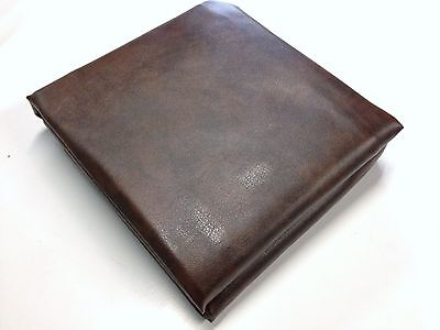 9ft Foot QUALITY Pool Snooker Billiard Table Cover Fitted Heavy Duty Vinyl BROWN