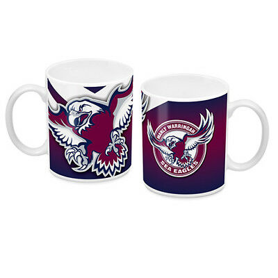 NRL Manly Sea Eagles TEAM Ceramic Coffee Mug Cup Fathers Day Christmas Gift