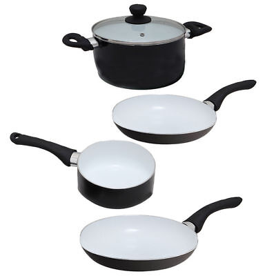 6 Pc Magicook Casserole Stainless Steel Induction Pan Set High Quality Cookware