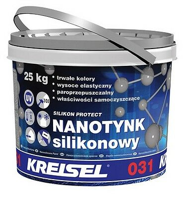 Render Silicone Thin-Layer Nano-Render White 1.5mm 25kg Kreisel 031