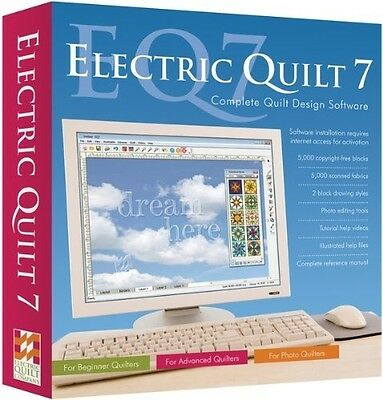 Electric Quilt 7. Delivery is Free
