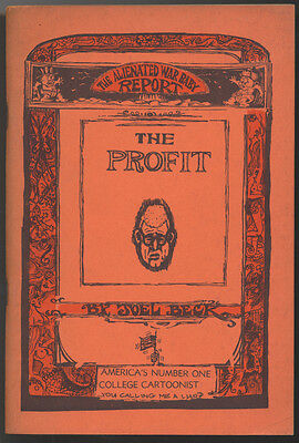 The Profit by Joel Beck (1966 Go Broke Press) Paperback 1st edition