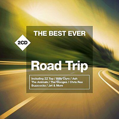 VARIOUS ARTISTS - THE BEST EVER...ROAD TRIP: CD ALBUM (August 21st 2015)