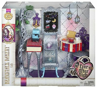 Ever After High Book End Hangout - Beanstalk Bakery Café Playset - CFD06 - New