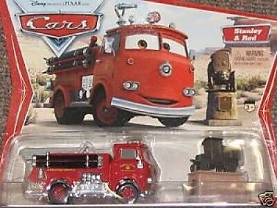 Cars Disney Pixar Movie Moments Original First Edition Stanley Red Desert Backgr