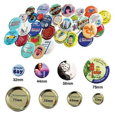 20 kinds 100 sets Button Maker Badge Parts Material