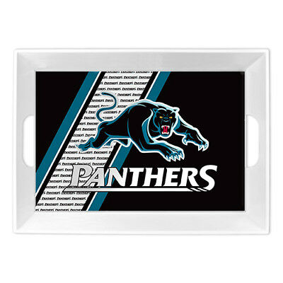 Penrith Panthers NRL Melamine Breakfast Serving Tray Food Drink Party Bar Gift