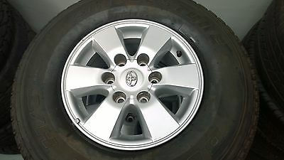 Toyota Hilux SR5 2009-2010 Genuine 15x7 Alloy wheels/rims with 80%+++ Tyres