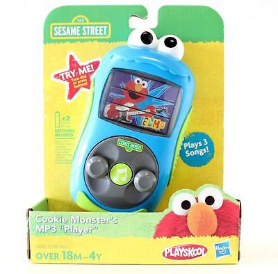 Sesame Street Cookie Monster's Toy MP3 Player -   Plays 3 Songs