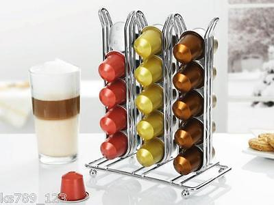 Capstore Nespresso Coffee Capsule Pod Holder Tower Rack BNIP UK SELLER