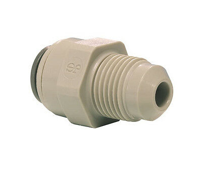 John Guest Push Fit Straight Adaptor - Tube OD x  MFL  Male Thread