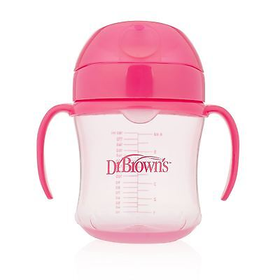 Dr Brown's Pink Trainer Cup Soft Spout