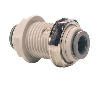 John Guest Push Fit Bulkhead Connector - Tube OD
