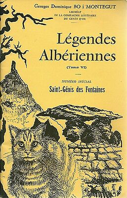Legendes Alberiennes - Tome Iv - Numero Special St Genis Des Fontaines