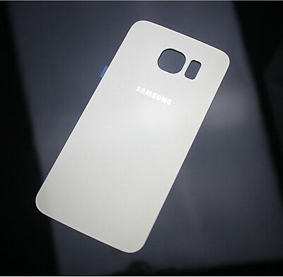 Hot Back Door Battery Glass Rear Cover Case For Samsung Galaxy S6 S6 edge + Tool