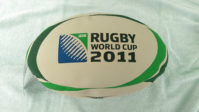 New Gilbert Rugby union ball, Ireland 2011 world cup edition, practice, training