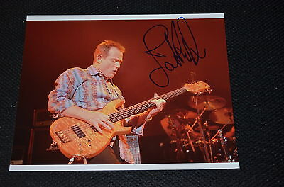 JOHN PAUL JONES signed Autogramm 20x25 cm In Person LED ZEPPELIN rar!