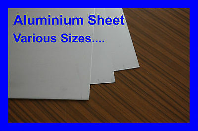Aluminium Sheet 0,5 ;0,6 ;0,8 ;1; 1.5mm.;2mm.3mm Various Sizes. Super Price!