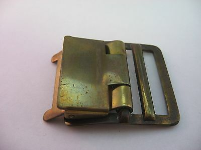 Vintage Brass Belt Buckle ~ Cool Design ~