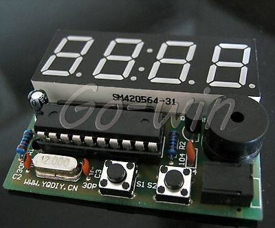 2PCS Electronic Production Suite 4 Bits C51 DIY Kits Electronic Clock