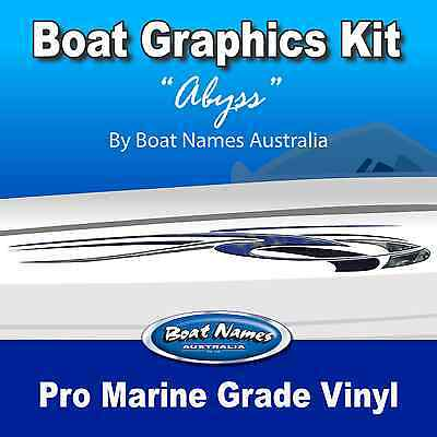 Boat Graphics Kit - Abyss