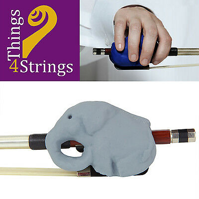 Things 4 Strings Cellophants Bow Accessory - Grey