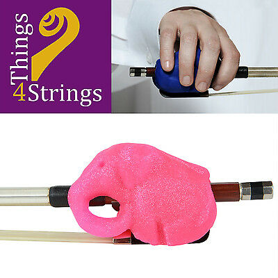 Things 4 Strings Cellophants Bow Accessory - Sparkly Pink