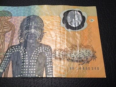 $10 1988 Australian Federation Polymer Note USED / CIRC CONDITION