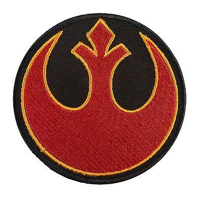 rebel alliance star wars embroidery embroidered rogue squadron sew iron on patch