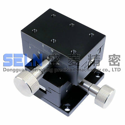 NEW XY-axis 40X60mm dovetail linear stage long-range LWY4060 manual table