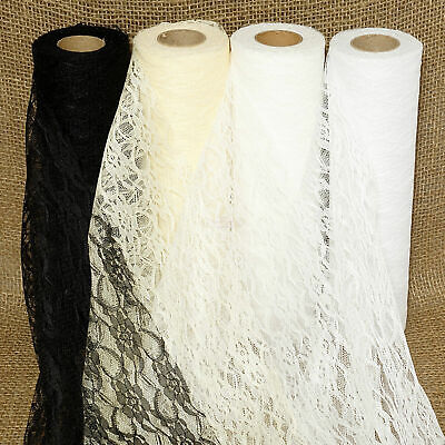 Lace Roll 30cm x 22metres Wedding Table Runner Chair Sash Vintage Decor