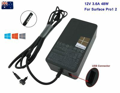 Genuine 12V 3.6A 48W Power Supply Charger AC Adapter For Microsoft Surface Pro2